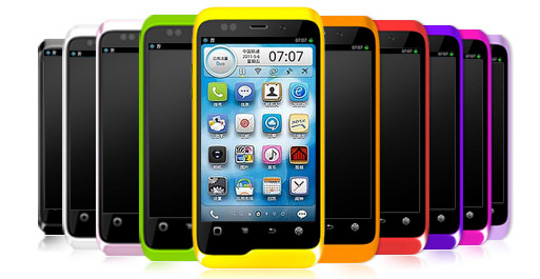 Smartphone sous Alibaba Mobile