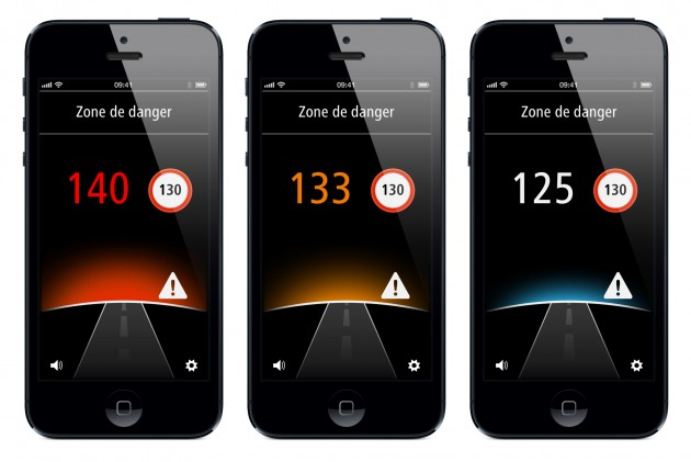 Application Zones de Danger_iPhone_