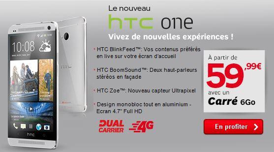 HTC One chez SFR