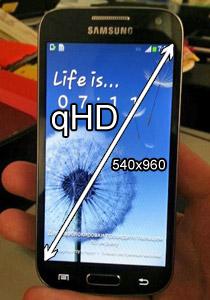 écran Samsung Galaxy S4 Mini