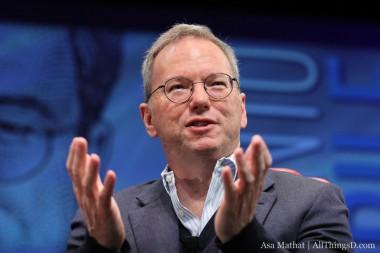 Eric Schmidt CEO de Goggle