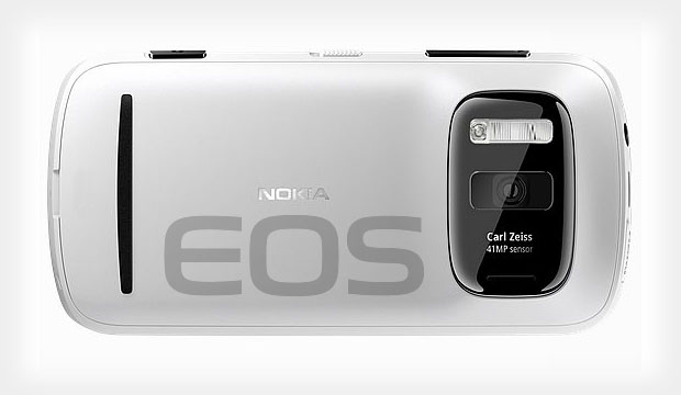 Windows Phone Nokia EOS avec caméra 41 megapixels