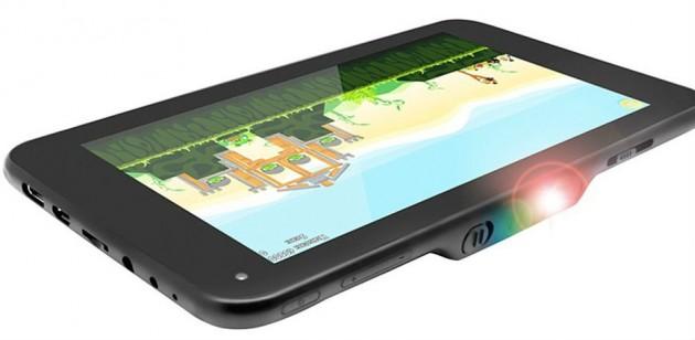 première tablette projecteur