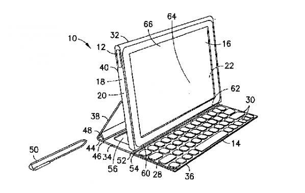 brevet Nokia de protection tablette avec clavier intégré