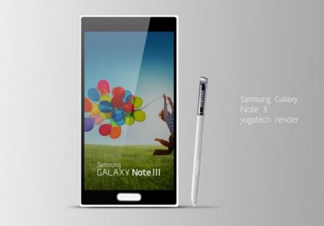 maquette du Galaxy Note 3