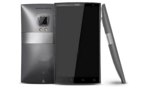 concept d'une phablet HTC avec écran 6 pouces