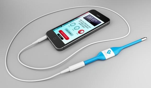 Kinsa thermomètre pour smartphone