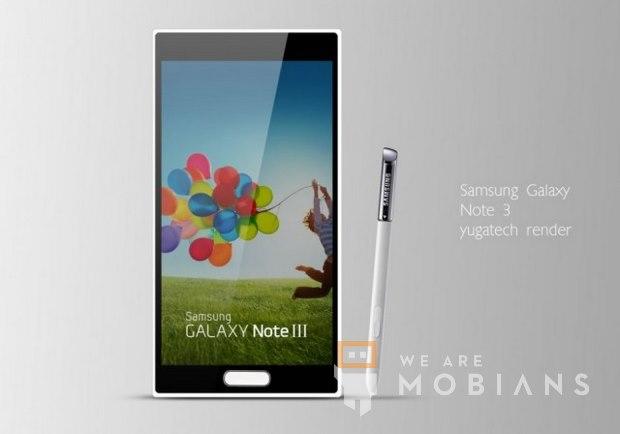 Un concept phone du Samsung Galaxy Note 3