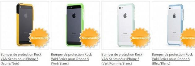 Bumper Rock Van Serie pour iPhone 5