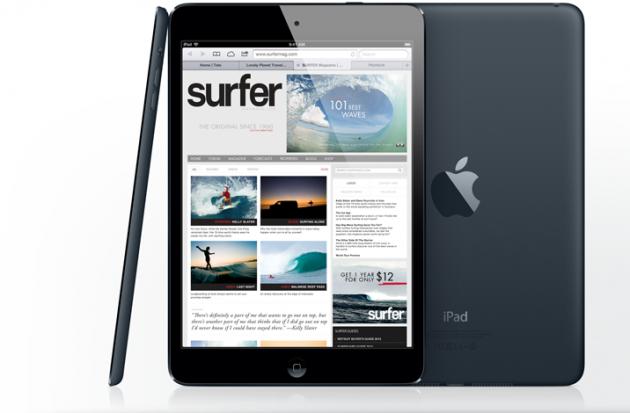 iPad Mini version noire