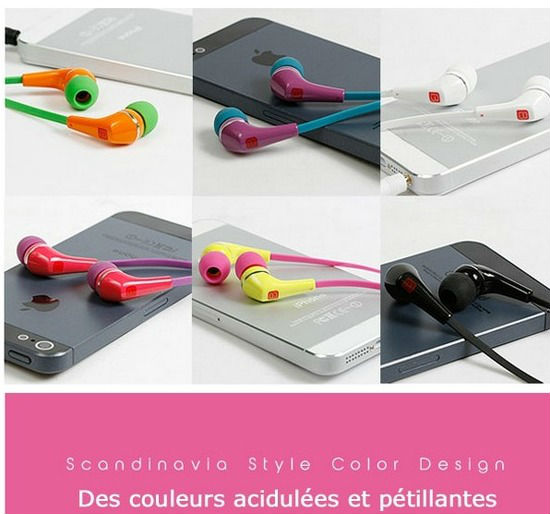 Ecouteurs intra-auriculaires PATTERN BREAKER