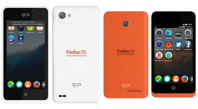 nouveau produit Firefox OS par Foxconn