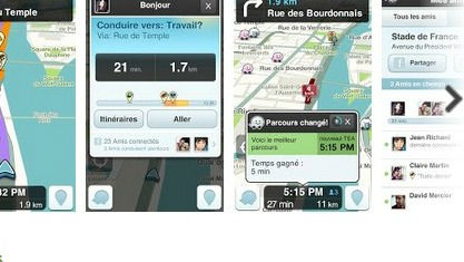 nouvelle application Waze