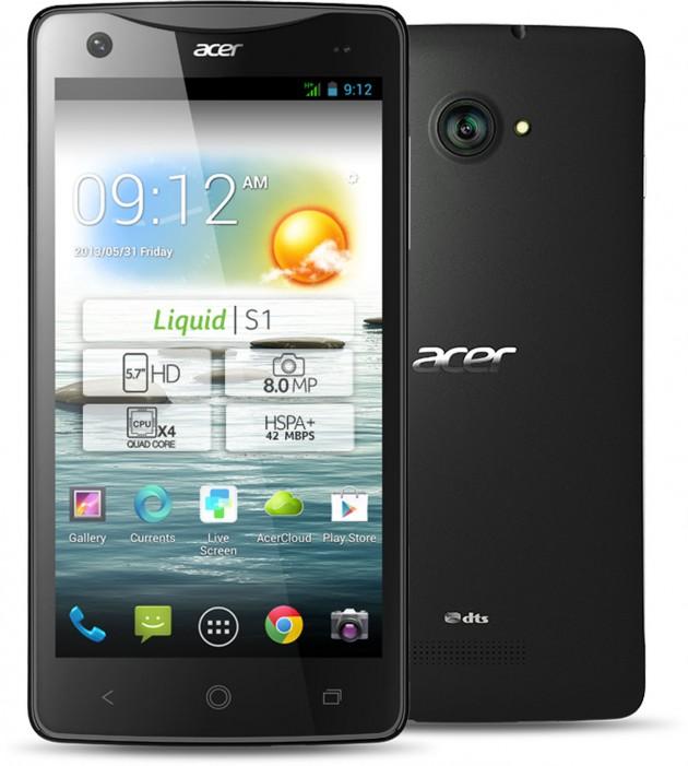 photo presse du Acer Liquid S1