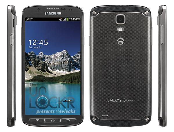Photo du Galaxy S4 Active version opérateur Att