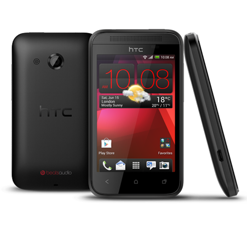 HTC Desire 200; le smartphone entrée de gamme Android de HTC