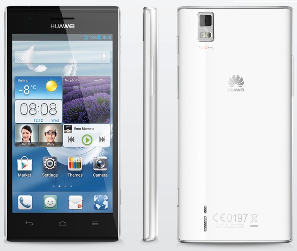 Le smartphone Huawei Ascend P2 chez Orange à 399 euros - WeAreMobians - WeAreMobians