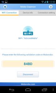 Moborobo Phone App