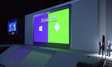 ATIV Q avec 2 systèmes d'exploitation Windows 8 et Android
