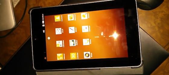 Tizen installé sur un Nexus 7