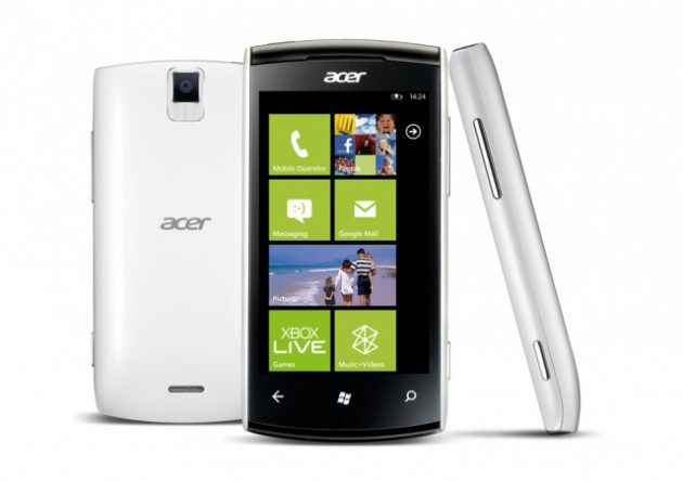 Acer Allegro, un Windows Phone 7.5