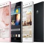 huawei Ascend P6, le smartphone Android le plus fin au monde avec 6,18 mm d'épaisseur