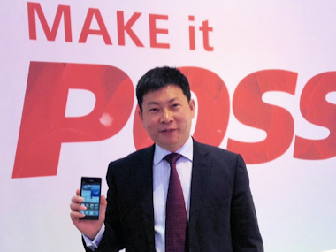 Richard Yu, responsable Huawei