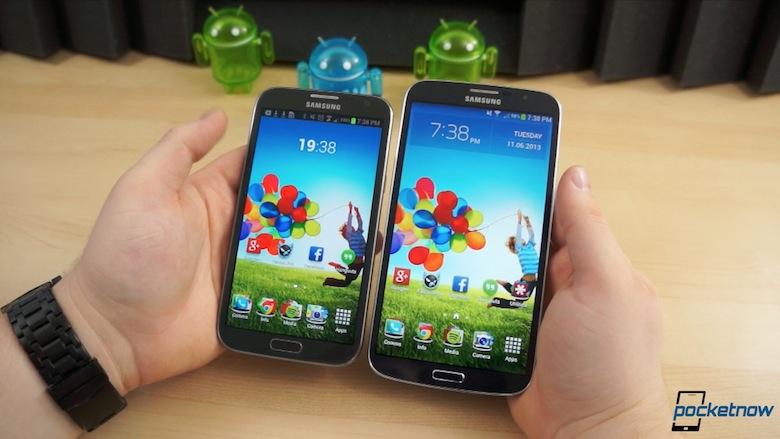 video comparative Galaxy mega 6.3 vs note ii
