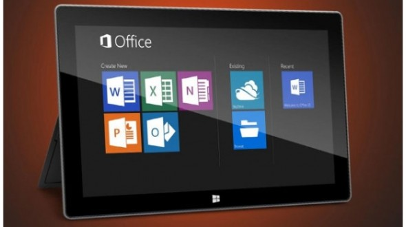 Microsoft Office offert sur les tablettes Windows