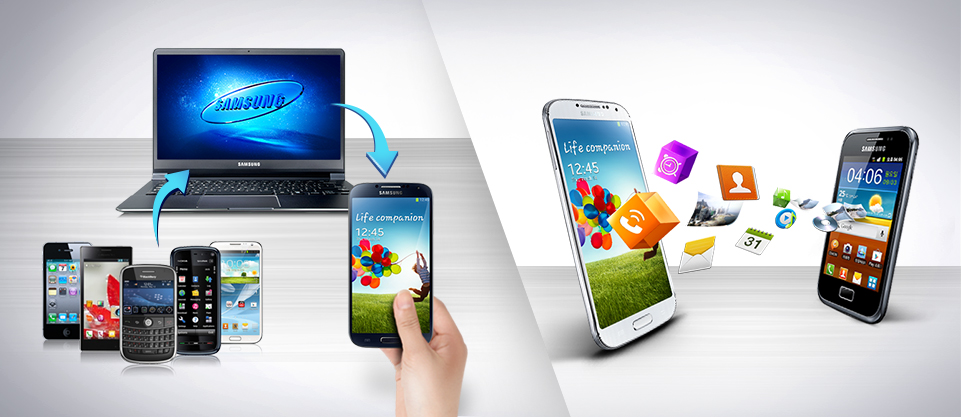 Smart Switch solution de transfert des données iPhone vers Galaxy S4