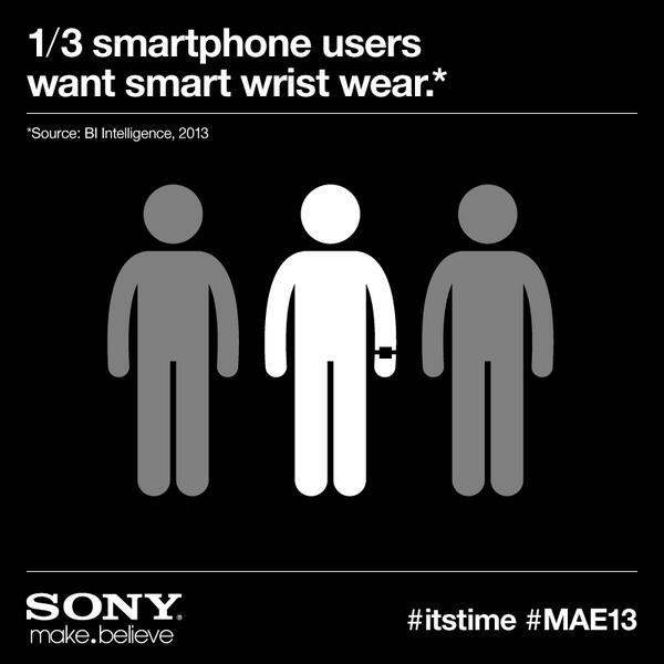 Sony tease sur la SmartWatch