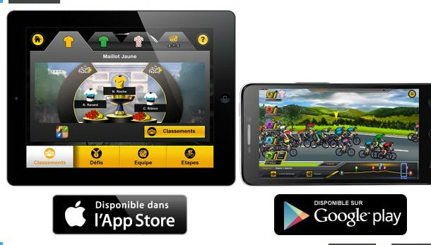 application Tour de France 2013