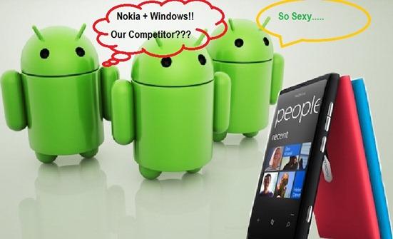 Nokia pense-t-il à produire des Lumia sous Android