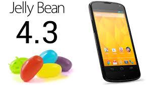 Android 4.3 Jelly Bean disponible avant la fin Juillet