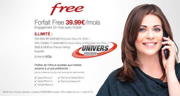 Free propose des smartphones subventionnés chez Vente-Privée