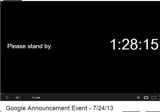 événement presse Google Juillet 2013