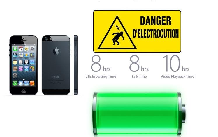 une femme meurt par électrocution avec un iPhone 5