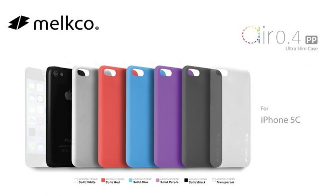 Melkco propose les premiers accessoires pour iPhone 5C