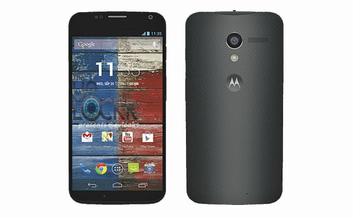 photo presse du Moto X
