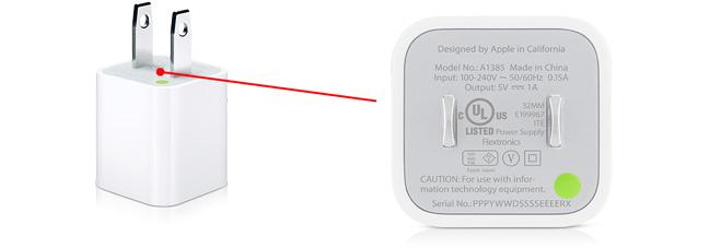 Apple reprend les chargeurs iPhone contrefaits