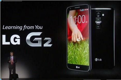 LG G2 présenté officiellement