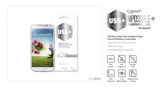 protection en verre trempé pour Galaxy S4