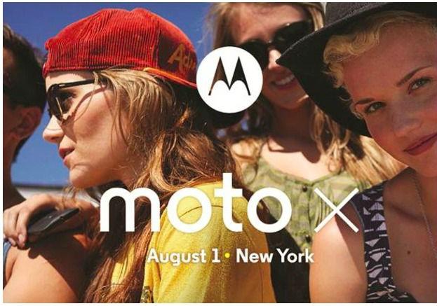 présentation officielle du Moto X