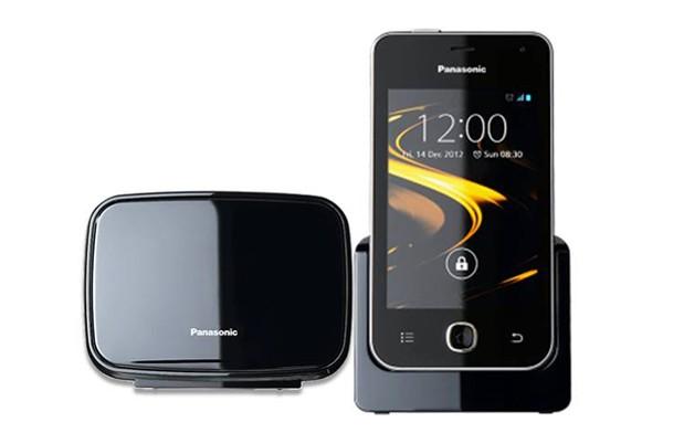 Le Panasonic kx prx120, téléphone fixe - mobile 3G sous Android
