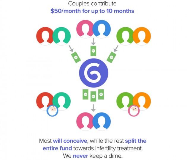 principe de fonctionnement du bébé crowdfunding