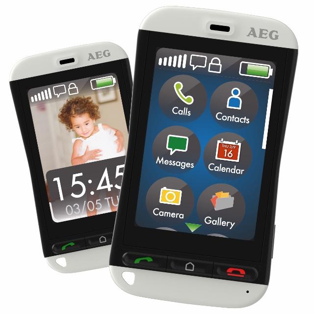 smartphone Voxtel M800 de AEG