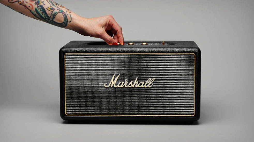 enceinte bluetooth marshall portable wearemobians. Black Bedroom Furniture Sets. Home Design Ideas