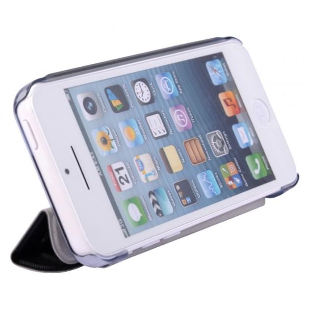 Etui Cuir Baseus Tri-fold Stand pour iPhone 5C