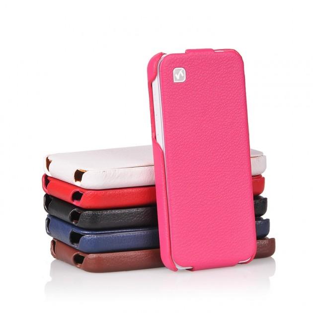 Etui Cuir HOCO DukeFlip pour iPhone 5C