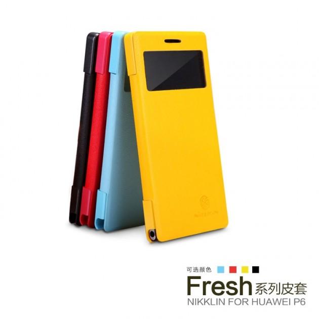 Etui Cuir NILLKIN Fresh Series pour Huawei Ascend P6